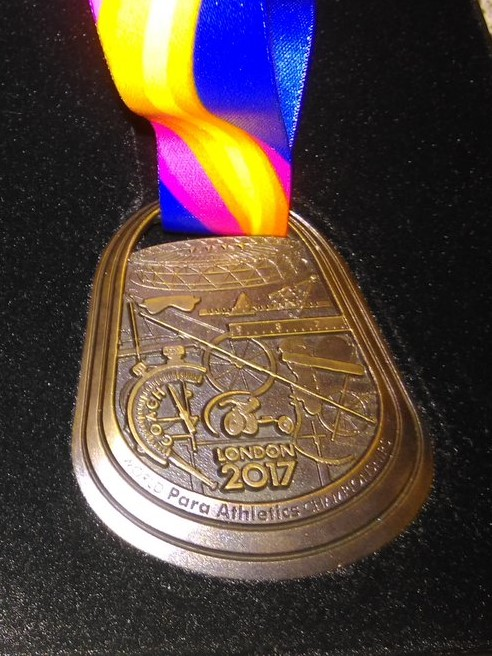 London 2017 Coaches Medal