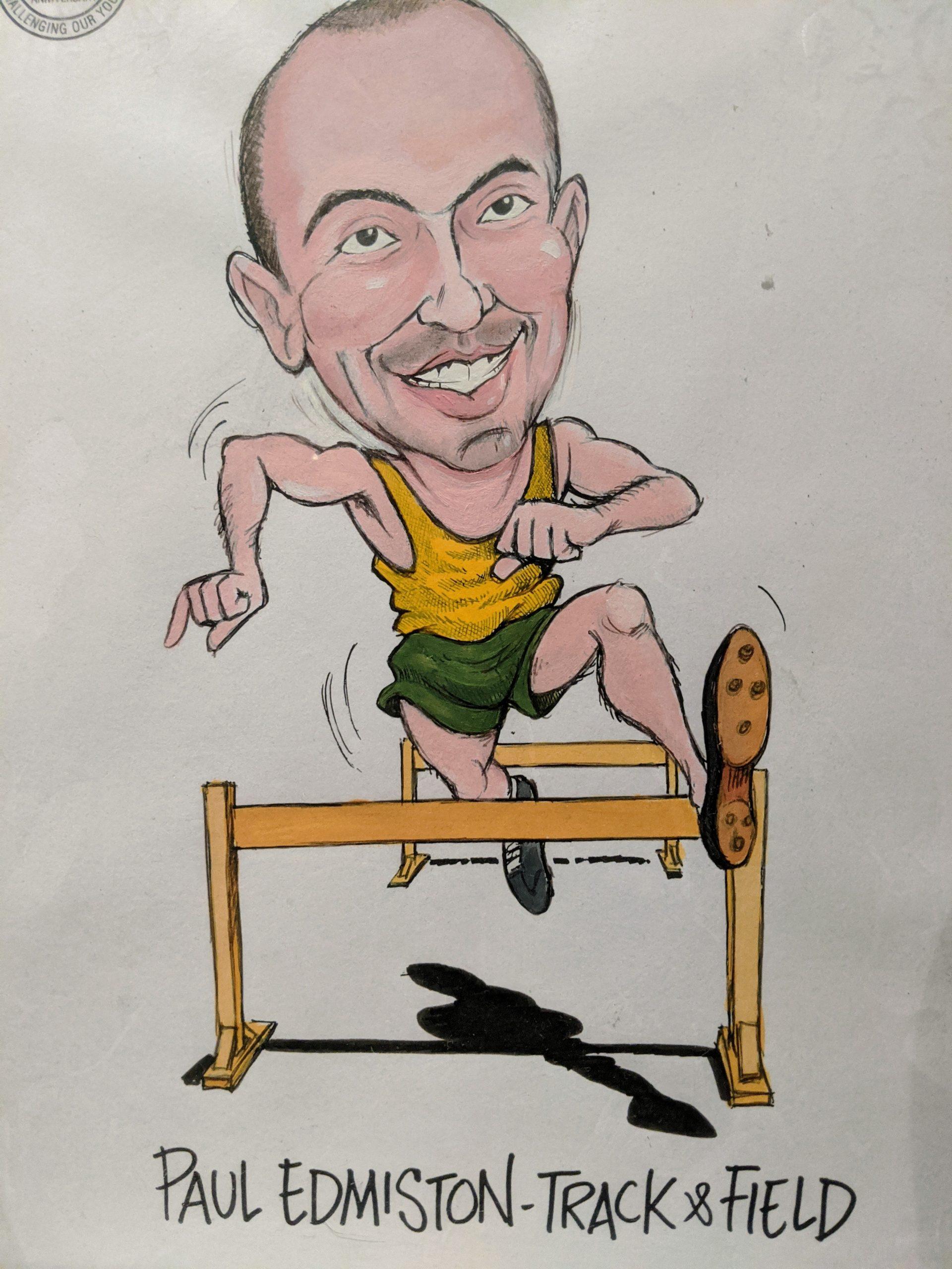 Paul Edmiston Caricature