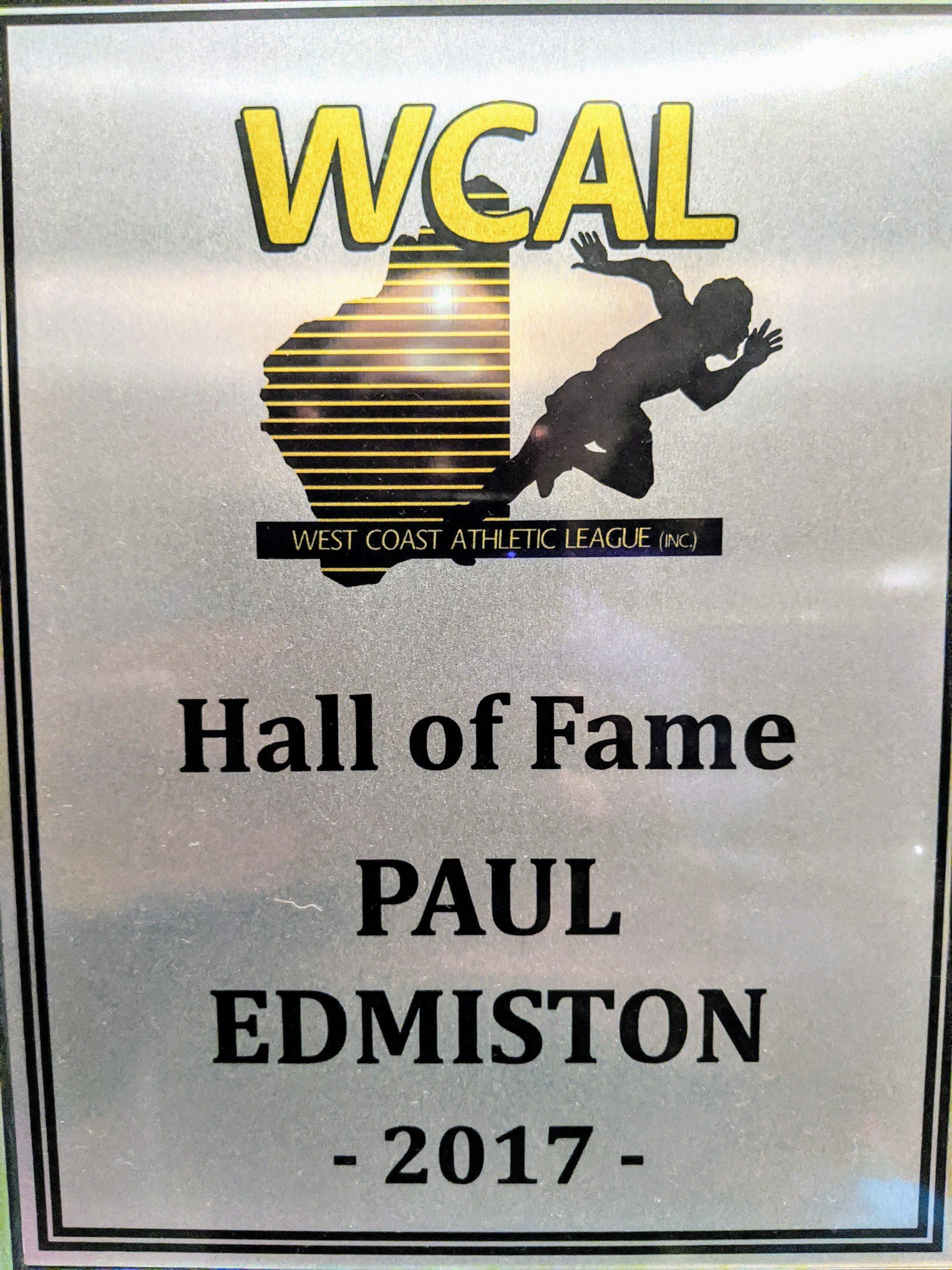2017 WCAL Hall of Fame